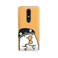 Ốp lưng dẻo cho điện thoại Nokia 6.1 plus X6 - 01171 7901 DUCK04 - Hàng Chính Hãng thumbnail