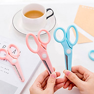Kéo nhựa cầm tay minui - kéo nhựa vận dụng văn phòng phẩm tiện lợi thumbnail