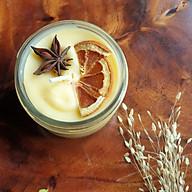 Nến thơm tinh dầu Quýt (cam) 100g - giúp thư giãn, thơm phòng khử mùi, giảm stress với thành phần hoàn toàn tự nhiên thumbnail