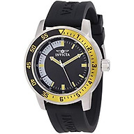 Invicta Men s 12846 Specialty Stainless Steel Watch with Black Band thumbnail