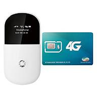 Bộ Phát Wifi Di Động 3G-Vodafone R205 + Sim 3G 4G Viettel 10GB Tháng - Hàng Nhập Khẩu thumbnail