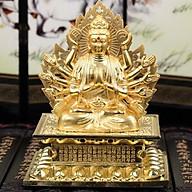 Tượng Phật Thế Âm Bồ Tát Trang Trí Xe Hơi thumbnail