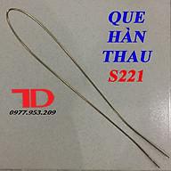 Que Hàn Thau S221 dùng hàng ĐỒNG với SẮT thumbnail