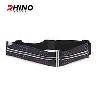 Đai đeo thắt lưng thời trang thể thao cho nam nữ Rhino B202 đựng vừa điện thoại 6.5 Inch, dùng khi chạy bộ đạp xe leo núi hoặc chơi các môn thể thao khác, vải chất lượng cao Rhino Store thumbnail