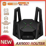 Bộ định tuyến XIAOMI AX9000 Bộ định tuyến ba kênh WIFI6 CPU lõi tứ 1GB RAM 4K QAM 12 Bộ định tuyến thumbnail