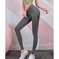 Quần tập cao cấp chun nâng mông, Quần Legging tập Gym, Yoga cạp cao dệt kim thumbnail