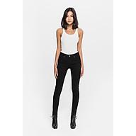 TheBlueTshirt - Quần jeans ôm đen Black Skinny Jeans thumbnail