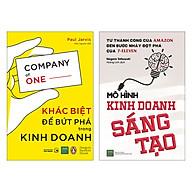 Combo Khác Biệt Để Bứt Phá Trong Kinh Doanh + Mô Hình Kinh Doanh Sáng Tạo (2 Cuốn) thumbnail