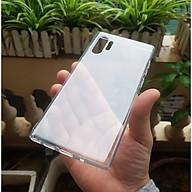 Ốp cho Samsung Galaxy Note 10 Plus - Silicon trong suốt hãng GOR Hàng nhập khẩu thumbnail