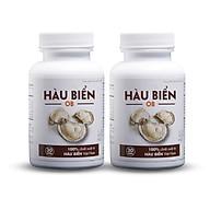 [COMBO 2 HỘP] Thực phẩm bảo vệ sức khỏe Hàu Biển OB - tăng cường sinh lực, bền sinh lý - 2 hộp x 30 viên thumbnail
