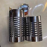 Ống đũa đôi tròn inox 304 sáng bóng cao cấp loại đẹp không rỉ sét thumbnail