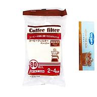Giấy Lọc Cafe, Trà Japan + Tặng Hồng Trà Sữa (Cafe) Maccaca 20g thumbnail