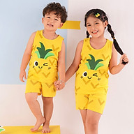 Đồ bộ ba lỗ cotton mặc nhà mùa hè cho bé trai, bé gái Unifriend size 2, 5, 6, 7, 8, 9, 10 tuổi thumbnail