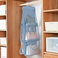 Túi treo đựng giỏ xách 3 tầng 6 ngăn tiện lợi dày dặn 35x93 BBGD01 thumbnail