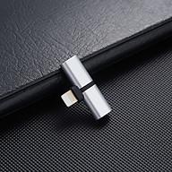Bộ chuyển đầu sạc Lightning 2in1 cho iphone V2 - Hàng nhập khẩu thumbnail
