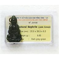 Tượng Phật Ngọc Bích - Tượng Phật Phong Thủy - Đá Phong Thủy Ngọc Bích - J54108 thumbnail