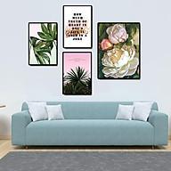 Tranh treo tường, tranh canvas TB11 bộ 4 tấm thumbnail