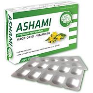 Thực phẩm bảo vệ sức khỏe Ashami Hỗ trợ hoạt huyết, cải thiện tình trạng căng thẳng thần kinh, lo âu, mệt mỏi - NGUYÊN LIỆU NHẬP KHẨU CHÂU ÂU thumbnail