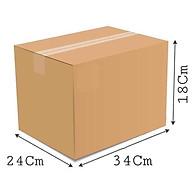 34x24x18 - Combo 10 thùng giấy carton gói hàng thumbnail