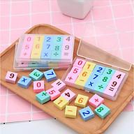 Bộ Gôm Tẩy làm toán độc đáo cho bé - Cục Gôm Tẩy Bút Chì Cho Bé thumbnail