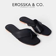 Dép nữ xo ngo n thời trang Erosska phối dây ca ch điê u trẻ trung DE034 thumbnail