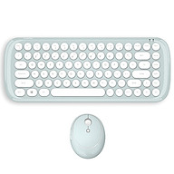 Mofii CANDY Keyboard Mouse Combo Wireless 2.4G Pure Color 84 Key Mini Keyboard Mouse Set with Circular Punk Key Caps thumbnail