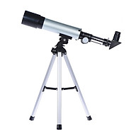 360 50Mm Monocular Refractive Space Telescope Observation Mirror Has Built-In Optical Glass Optional Eyepiece Foldable Tripod thumbnail