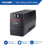Bộ lưu điện, bộ cấp điện liên tục UPS Prolink PRO851SFCU (850VA) - Hàng chính hãng, có cổng USB thumbnail