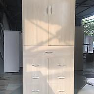 Tủ trẻ em hai cánh 7 ngăn kéo cao cấp V27 thumbnail