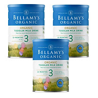 3 Lon Sữa Bột Bellamy s Organic Số 3 (900g) thumbnail
