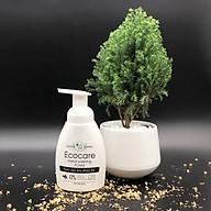Nước rửa tay hữu cơ diệt khuẩn dạng bọt hương Nhài 250ml thương hiệu Ecocare thumbnail