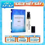 Nước hoa nữ IMMORTEL No8 Eau De Parfum 3ml thumbnail