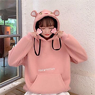 Áo hoodie Panther, Chất nỉ dày bền đẹp, dành cho nữ, Free size dưới 1m65 65kg, nhiều màu lựa chọn, hàng chất lượng thumbnail