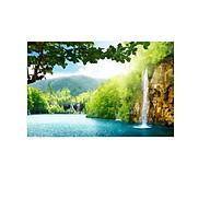 Tranh dán tường cửa sổ 3D Tranh trang trí 3D Tranh phong cảnh đẹp 3D T3DMN_T6_191 thumbnail