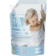 Nước Xả Dịu Nhẹ Cho Bé Nature Love Mere Cool Fresh Túi 1.3L thumbnail