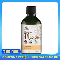 Dầu Xả tóc dầu Mắc Ca Macadamia 300ml MACALAND công dụng nuôi dưỡng và phục hồi tóc, giảm tình trạng xơ rối, giúp tóc đen mượt óng ả và dày hơn hàng công ty chính hãng, xuất xứ Việt Nam thumbnail