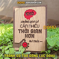 Tranh Slogan Tạo Động Lực DOHU216 Khó chẳng qua là cần nhiều thời gian hơn mà thôi - Giá Tại Xưởng Siêu Rẻ thumbnail