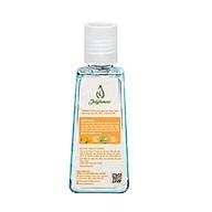 Gel rửa tay khô tinh dầu Cam và Nha Đam 60ml JULYHOUSE giúp sạch tay, kháng khuẩn, an toàn cho da, hương thương tinh dầu thư giãn thumbnail