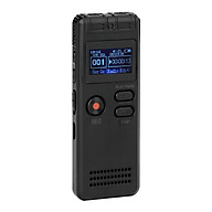 8GB Digital Voice Recorder Voice Activated Recorder MP3 Player 1536Kbps HD Recording Noise Reduction Dual Microphone thumbnail