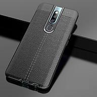 Ốp lưng chống sốc silicon giả da, chính hãng Auto Focus dành cho OPPO F11 Pro thumbnail