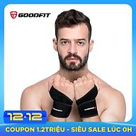 Băng quấn cổ tay xỏ ngón hỗ trợ tập gym, băng cổ tay chơi thể thao GoodFit GF302W thumbnail