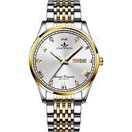 Đồng hồ nam FOuRRON F288 santafe watch 2020 chạy 2 Lịch dây thép không gỉ cao cấp thumbnail