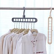 Móc Treo Quần áo Đa Năng 9 Lỗ Tiết Kiệm thumbnail
