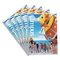 Lốc 5 Vở Viết A4 One Piece Campus NB-A4OS200 Mẫu Ngẫu Nhiên (200 Trang) thumbnail