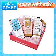 Combo Sữa tắm + Dưỡng thể trắng da Scentio Double Milk Triple White + Tặng kèm Muối tẩy tế bào chết Milk Plus 300g thumbnail