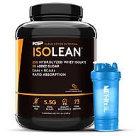Combo Sữa Tăng Cơ RSP ISOLean Hydrolyzed Whey Protein Isolate - 73 Liều dùng, Vị Chocolate, 2.23kg & Tặng kèm Bình nước 600ml thumbnail