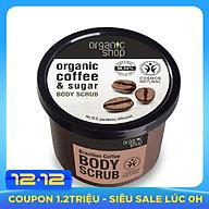 Tẩy Tế Bào Chết Toàn Thân Organic Shop Organic Coffee & Sugar Body Scrub 250ml thumbnail
