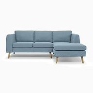 Ghế sofa góc trung bình Juno S701303 304 x 92 156 x 78 cm (Kem đậm) thumbnail