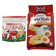 Sữa Phát triển chiều cao Asumiru Nhật Bản 180g ( cho bé 3-16 tuổi ) Tặng 01 gói bánh quế cuộn hiệu Kapad thumbnail