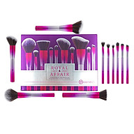 Bộ 10 cọ trang điểm Bh Cosmetics Royal Affair Brush Set 10 Piece Metalized Brush Set thumbnail